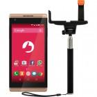 Smartphone Selfie S455 Dourado, Tela 4.5