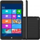 Tablet Qbex TX280I Preto, Atom Quad Core, Tela 8.0'', Windows 8.1, Mem 16GB, Cam 2.0 MP - Wi-Fi