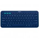 Teclado Bluetooth Logitech K380 - Azul, Sem Fio