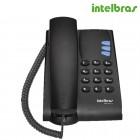 Telefone Com Fio Intelbras IP VoIP TIP100-Lite Preto, para PABX - 4060004