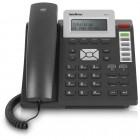 Telefone Com Fio Intelbras IP VoIP TIP200-Lite 4061800 Preto - Para PABX