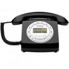 Telefone Com Fio IntelBras Retr� TC8312 4030160 Preto - Identificador de Chamadas e Viva Voz