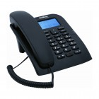 Telefone Com Fio IntelBras TC60 4000074 com Identificador de Chamadas e Viva Voz - Preto