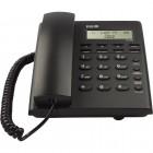 Telefone Com Fio Keo K302 Grafite - Com Identificador de Chamada e Despertador