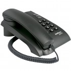 Telefone Com Fio Intelbras Pleno Preto, com Chave Bloqueadora - 4080057
