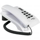 Telefone com Fio Intelbras Pleno Cinza Ártico, com Chave Bloqueadora - 4080058