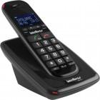 Telefone Sem Fio IntelBras TS63V Preto, Identificador de Chamadas e VIva Voz - 4000048