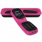 Telefone Sem Fio IntelBras TS80V 4000089 Rosa - Identificador de Chamadas e Digital