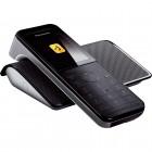 Telefone sem Fio Panasonic KX-PRW110LBW Preto - Com Repetidor de Sinal Wifi