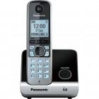 Telefone sem Fio Panasonic KX-TG6711LBB Preto Dect 6.0 - Identificador de Chamadas e Viva-Voz