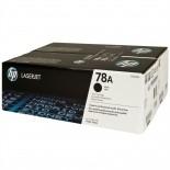 Toner HP 78A Preto CE278AF Embalagem Dupla (2 x CE278A)
