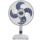 Ventilador de Mesa 30 cm Mallory Turbo Silence, 3 Níveis de Velocidade, 4 Pás, 42W, 110V - Branco