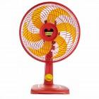 Ventilador de Mesa 30cm Mallory Mickey TS, 3 Níveis de Velocidade, 6 Pás, 42W, 110V - Laranja
