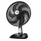 Ventilador de Mesa 40cm Mondial NV-41 Premium, 3 Níveis de Velocidade, 6 Pás, 80W, 110V - Preto