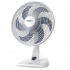 Ventilador de Mesa 40cm Mondial NV-45, 3 Níveis de Velocidade, 6 Pás, 80W, 110V - Branco e Azul