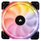 Ventoinha Corsair HD120 RGB, 120mm, 1725 RPM, Led Multicolor, com Controlador  - CO-9050066-WW