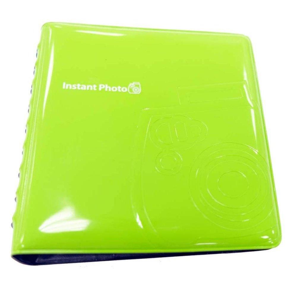 Álbum FujiFilm Instax Mini Verde - para 64 fotos
