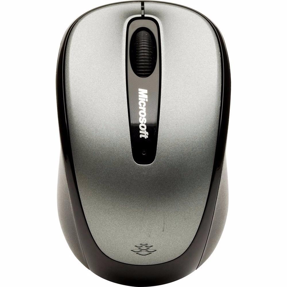 Mouse Óptico Microsoft Wireless Mobile 3500 com Tecnologia BlueTrack - Preto