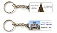 Chaveiro Personalizado Lembrança paróquias