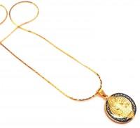 Corrente com Medalha São Bento