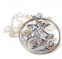 Corrente com Medalha São Jorge