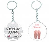 Lembrancinha Chaveiro Personalizado - Escolha o que deseja personalizar
