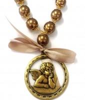 Medalhão de Berço Anjo da Guarda