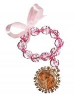 Imagem - Medalhão de Berço Anjo da Guarda com oração no verso