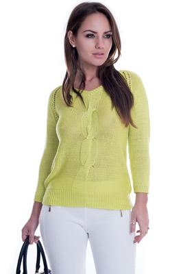 Imagem - Blusa de Lã Trançada