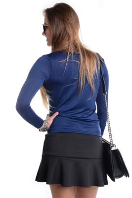 Imagem - Blusa Decote Transpassado