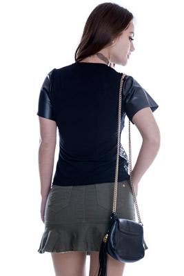 Imagem - Blusa Frente de Renda