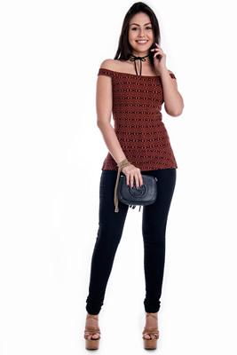Imagem - Calça Jeans de  Cintura Alta