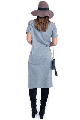 Imagem - Maxi T-shirt com Estampa Chanel