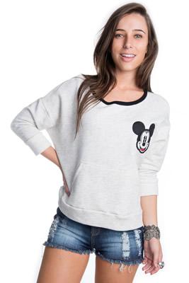Imagem - Moletom Mickey com Bolso