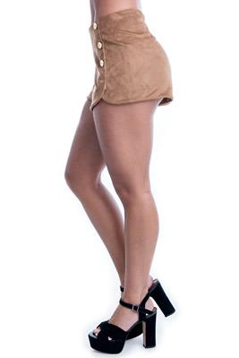 Imagem - Shorts de Chamois com Botão
