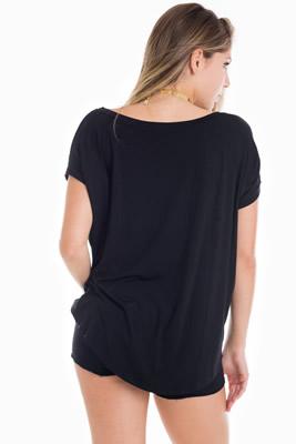 Imagem - T-shirt Beyond com Renda