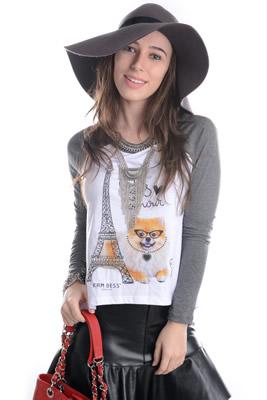 Imagem - T-shirt Com Estampa