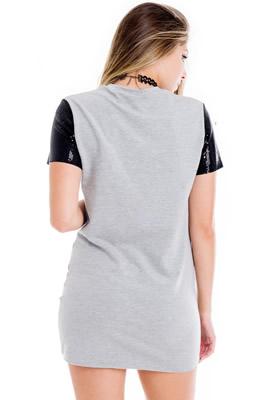 Imagem - Vestido Camiseta Love More
