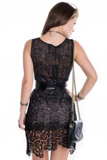 Imagem - Vestido de Renda Guipir