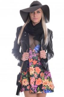 Imagem - Vestido Rodado com Tule