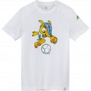 Camiseta Infantil Adidas Mascote Wc14