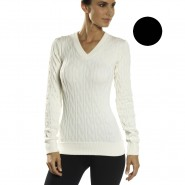 Blusa Lupo Cotton Tricô Sem Costura