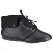 Bota Ankle Boot Rasteira Moleca