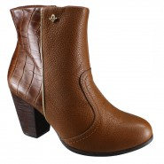 Bota Cravo e Canela Ankle Boot