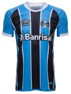 Camisa Masculina Umbro Grêmio Oficial 1 2017 (Game)
