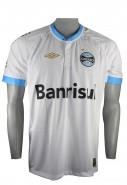 Camisa Masculina Umbro Grêmio Oficial Jogo II FAN 2015