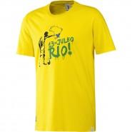 Camiseta Adidas Brazil Tee Wc 14