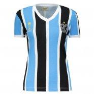 Camiseta Feminina Grêmio 1983 Retrô Mania