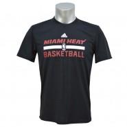 Camiseta Masculina Adidas Miami Heat HPS Game