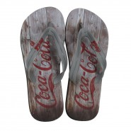 Sand�lia Coca-Cola Wood